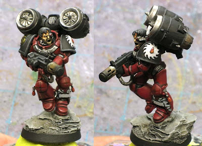 Flesh Tearer Space Marine