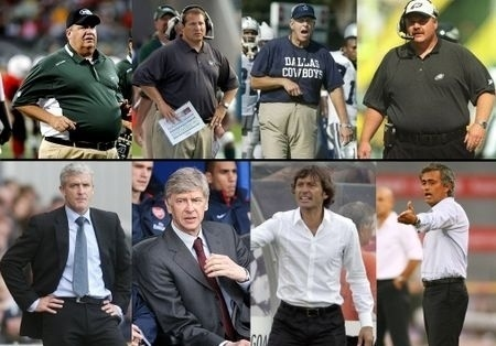 Soccer Coaches VS American Football Coaches