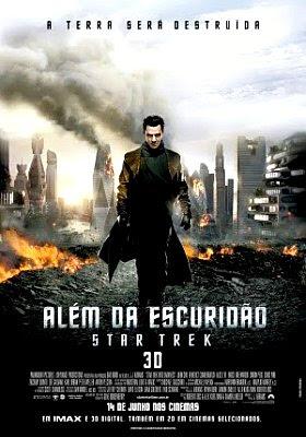Filme Poster Além da Escuridão - Star Trek TS XviD & RMVB Dublado
