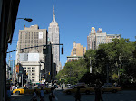 ESB, Broadway, and Madison Square Park