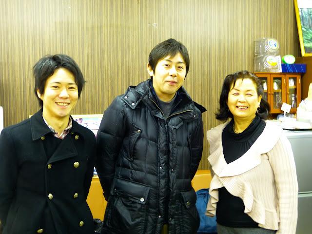菅さん、若野さん、大塚さん