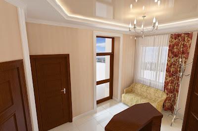 Интерьер - Парикмахерская в Деме, подробнее - http://www.pawelldesign.ru/