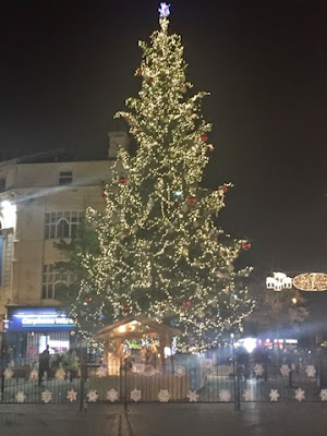Liverpool - Christmas tree
