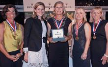 J/22 Rolex Womens- Sertl sailing to win