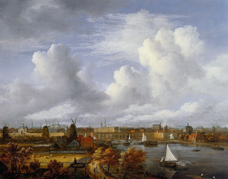 Jacob van Ruisdael - Amsterdam, Amstel, Hogesluis