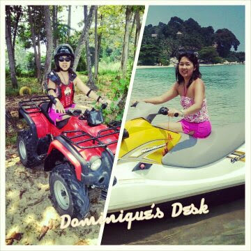Going on the Jet Ski and ATV