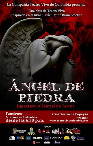 Angel de Piedra; Espectáculo Teatral de Terror