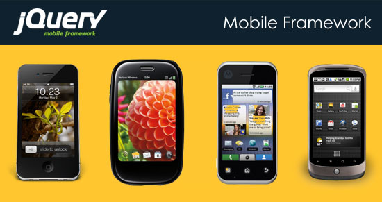 jQuery Mobile Framework Tutorial