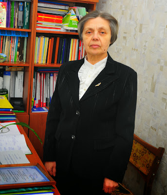 Председатель местной организации Профсоюза Галина Григорьевна Гнездилова