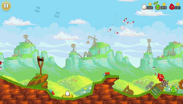 Angry Birds ra mắt phiên bản Red's Mighty Feathers 5
