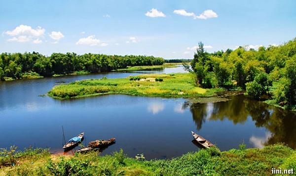 thơ con sông quê hương