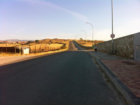Ruta en bici de Madrid a Segovia por el Camino de Santiago, julio 2012