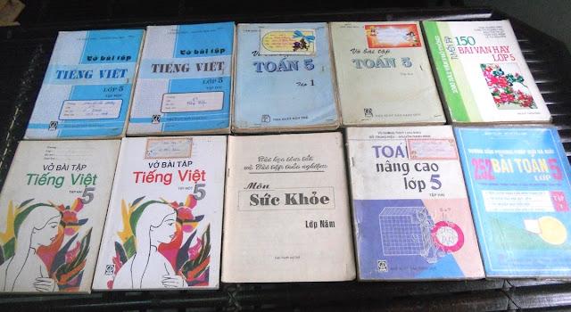 Sách giáo khoa tiểu học cũ - nơi lưu giữ từng trang ký ức DSCN2729