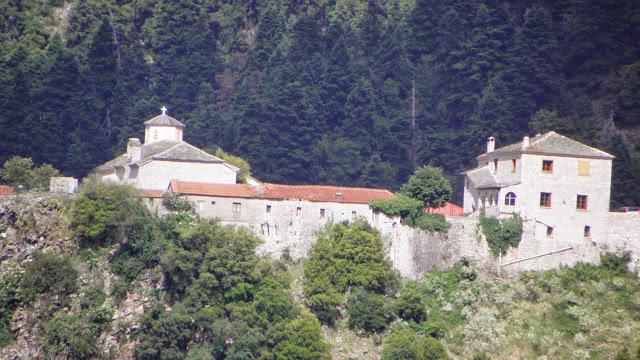 Η ιερά μονή Σπηλιάς