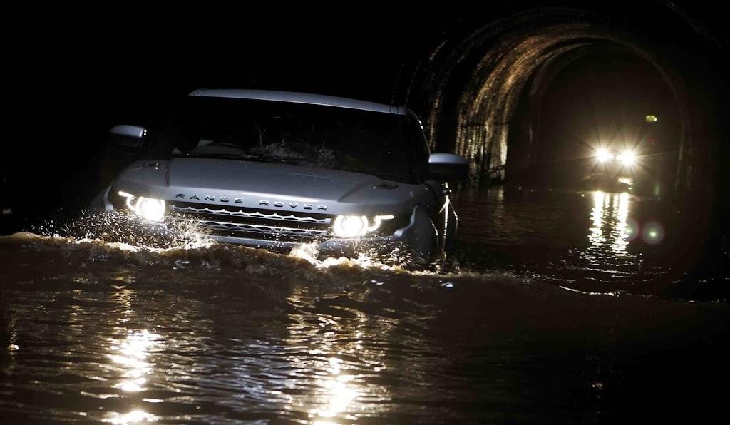 First (underground And Water) Drive: Range Rover Evoque