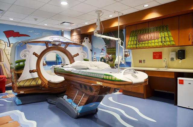 #全身掃瞄儀器不再冷冰冰:The Pirate Themed Scanner Hospital ! 1