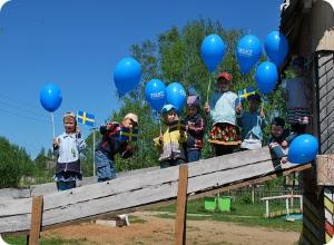 Тверской филиал компании Теле2 поздравил детей из поселка Лесное