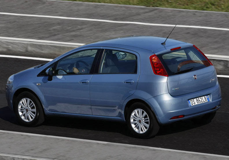 Fiat Punto 1.4 8V Natural Power, 4° serie - Federmetano