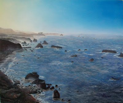 Rocky Shore of California