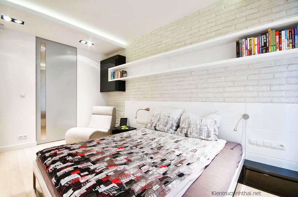 Thiết kế phòng ngủ trẻ trung , nghệ thuật