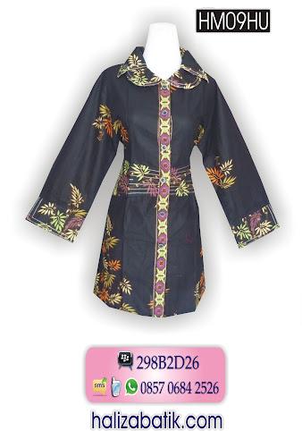 HM09HU Baju Seragam, Blus Batik, Baju Model Blus, HM09HU