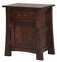 Seville Nightstand with Doors