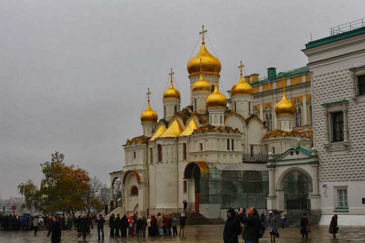 Annunciation Cathedral Moscow Kremlin