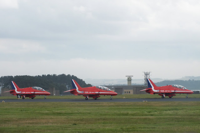 Red Arrows at Leuchars