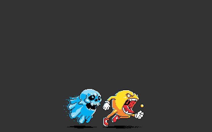 Hình nền đa phong cách về game Pacman - Ảnh 7