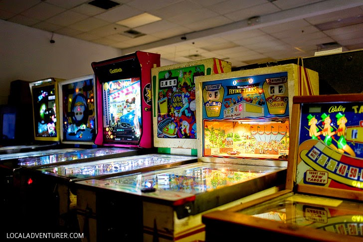 Pinball Hall of Fame Las Vegas NV.