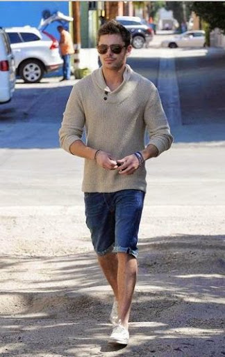 Zac Efron Fashion and Hairstyle
