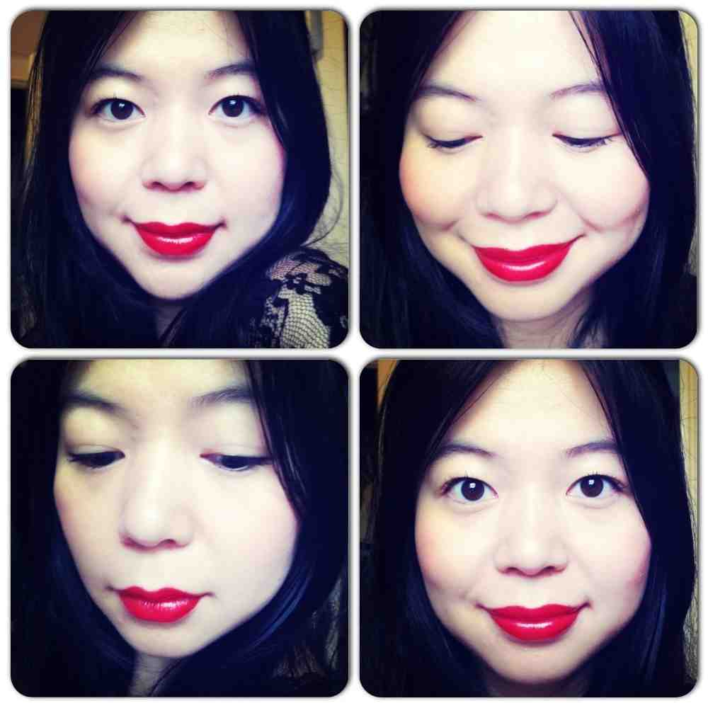 red lipstick lip colour lips