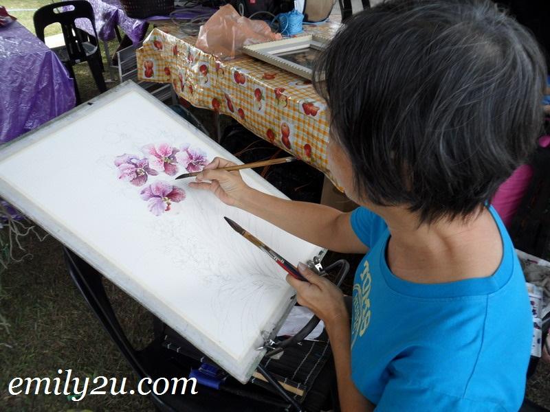 orchid painter