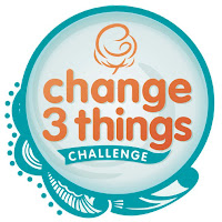 change 3 things challenge logo