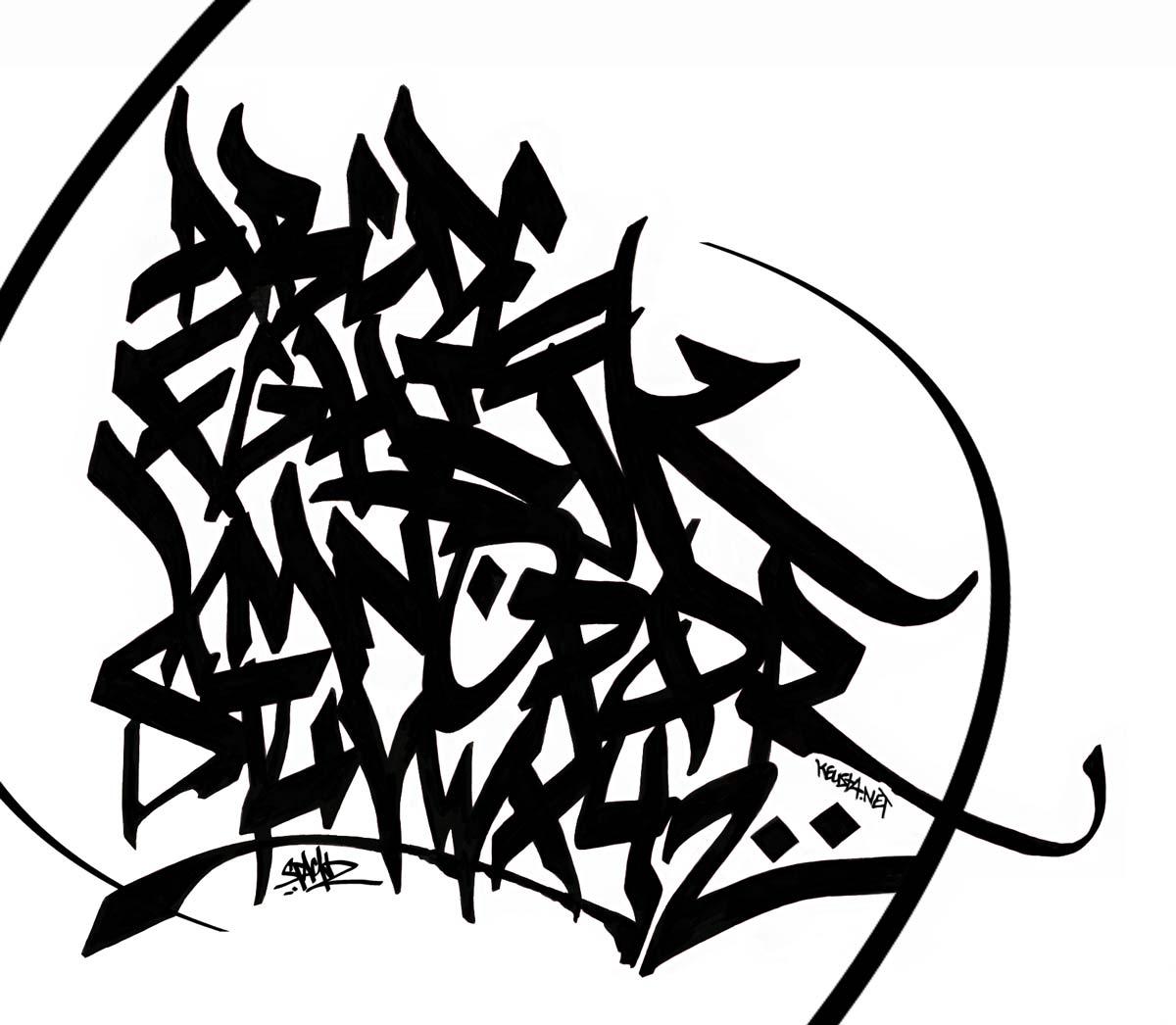 AFRO==============: Graffiti Alphabet A-Z