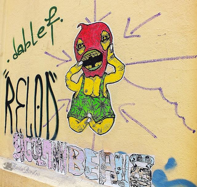 graffiti pasajul victoria bucuresti