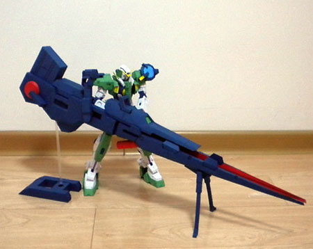 Gundam Dynames Torpedo Papercraft