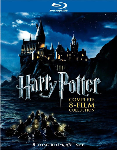 Harry Potter Complete Collection USA Blu Ray Coleção Harry Potter BluRay 720p Dublado