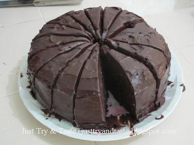 Resep Cake Talas Coklat Kukus JTT