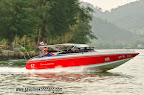 Speed boat living Klong Prao river