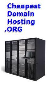 cheapest domain hosting