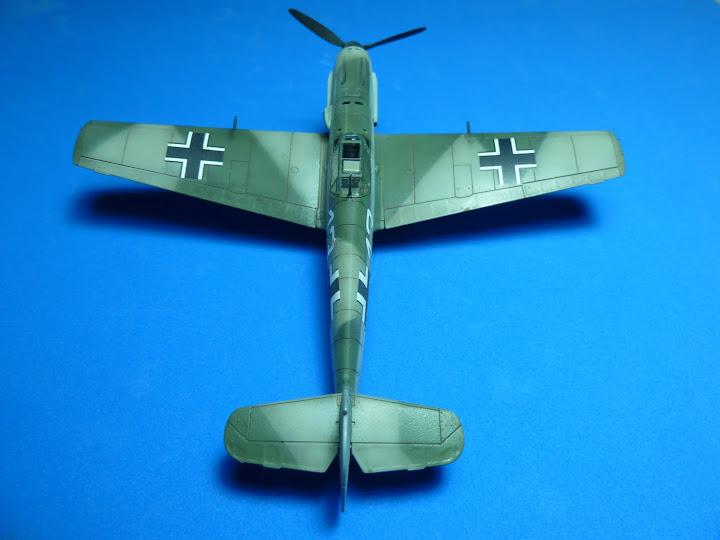 "Messerschmmit Bf 109 E-3 - Major Hans ""Assi"" Hahn P1040042"