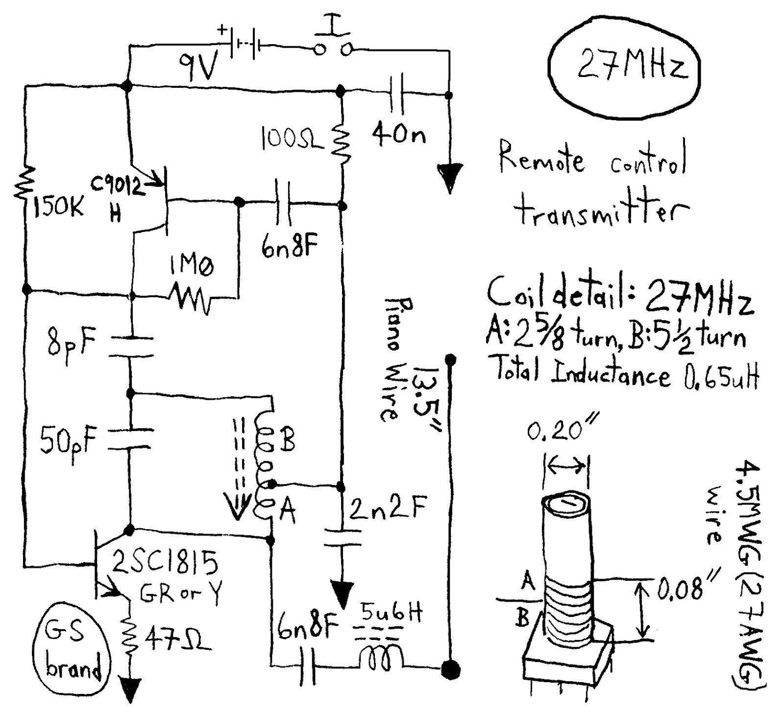 eletr u00d4nica do papai noel  circuitos de 27  40 e 49 mhz