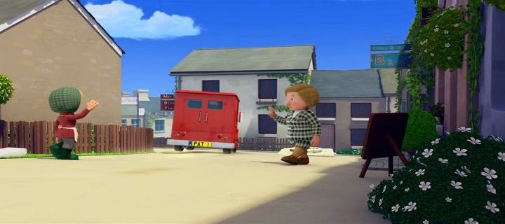 Screen Shot Of Hollywood Movie Postman Pat: The Movie (2014) Download And Watch Online Free at Alldownloads4u.Com