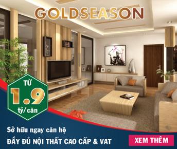 Mở bán chung cư GoldSeason