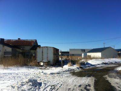 倉庫と作業場