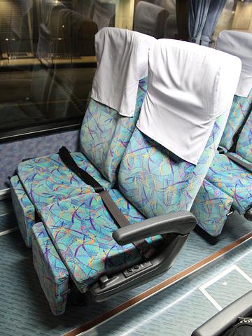 西日本鉄道「島原号」 9719 シート