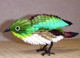 41 Best 3D origami birds images | 3d origami, Origami, Origami bird | 202x280