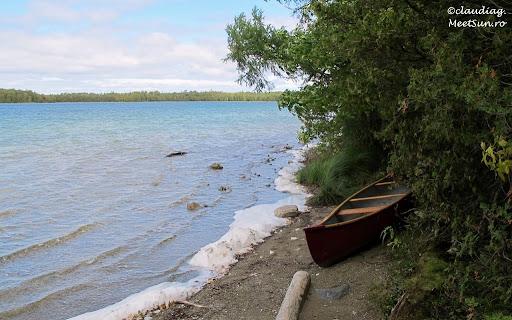 Peninsula Bruce. Lacul Cyprus