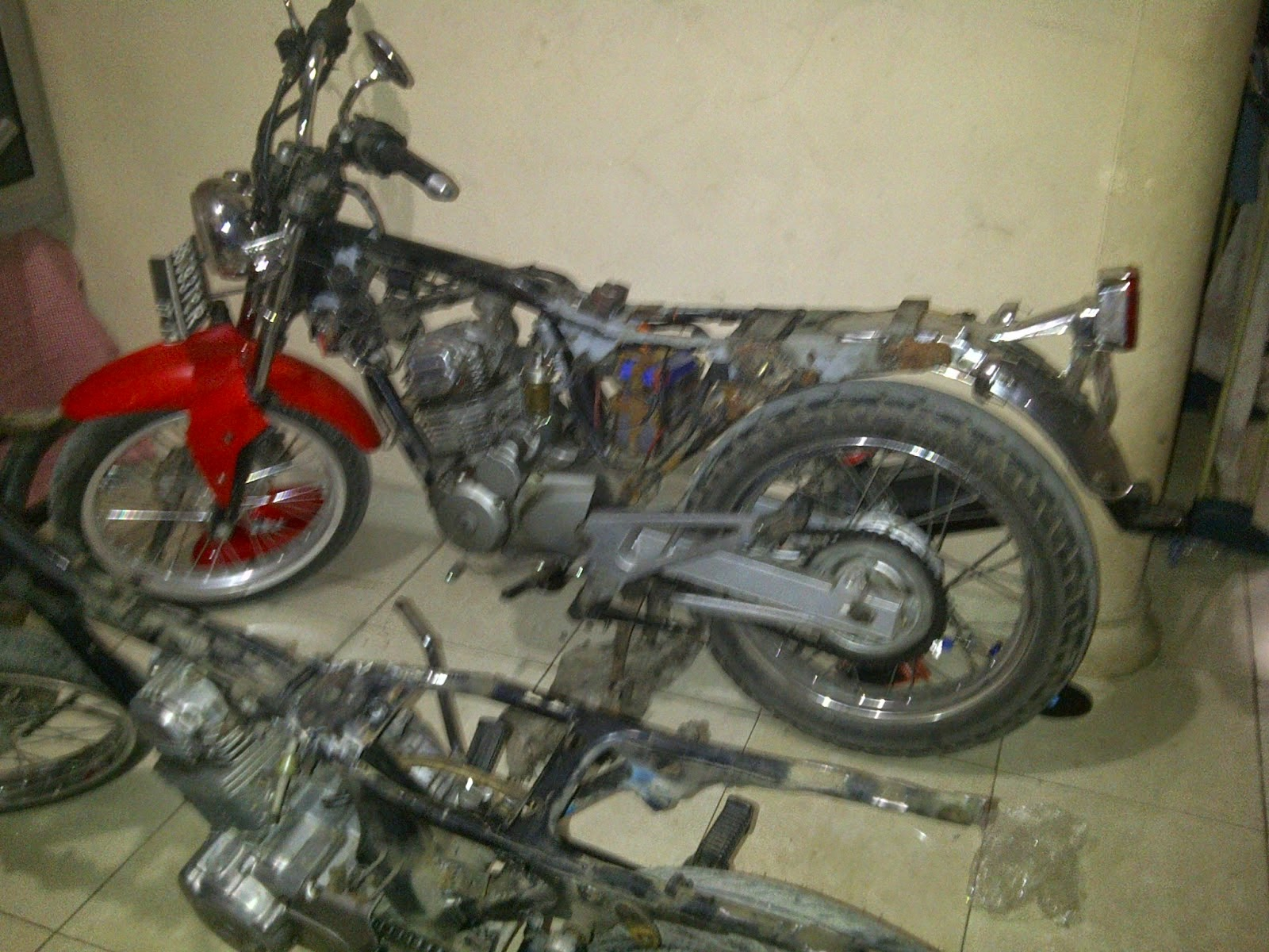 modifikasi honda cb 200
